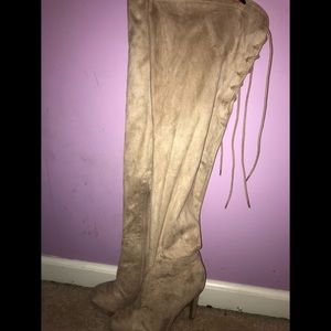 Charlotte Russe Over-knee high heel boots